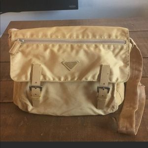 Prada authentic messenger bag